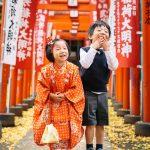 七五三の出張撮影してきました。鬼子母神 / 雑司ヶ谷・東京