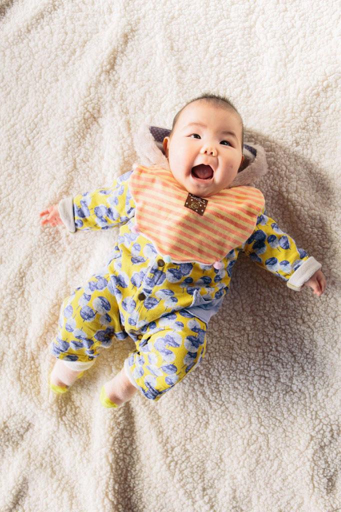 赤ちゃん記念写真
