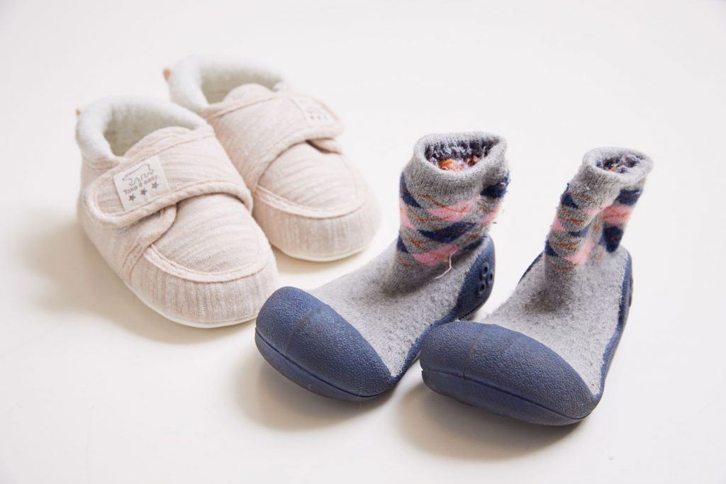 思い出の靴の写真