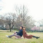 マタニティフォト、ピクニック気分で(世田谷・砧公園)